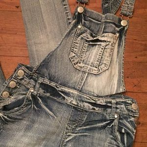 0ab7723ec72 Wallflower Jeans - Overalls with rhinestone details